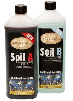 Gold Label Soil A&B 2x1L
