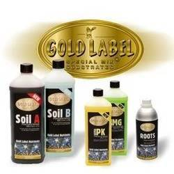 Gold Label large nutrient kit - Soil