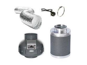Ventilation Kit PK125 420m3/h + Phresh Filter 500m3/h