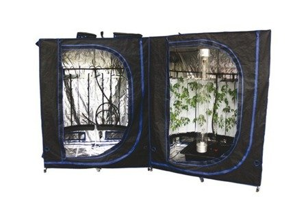 Agrow Double Vertical 166x160x211cm, 280 plants