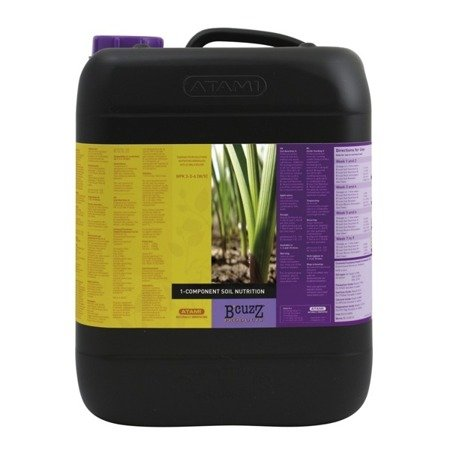 B´CUZZ 1 Component Fertilizer Soil 5 L