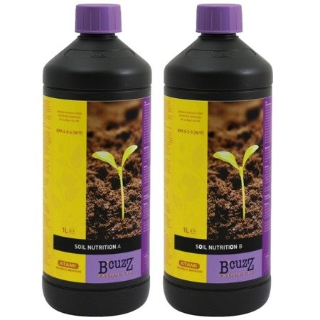 B´CUZZ Soil Fertilizer A&B 1L