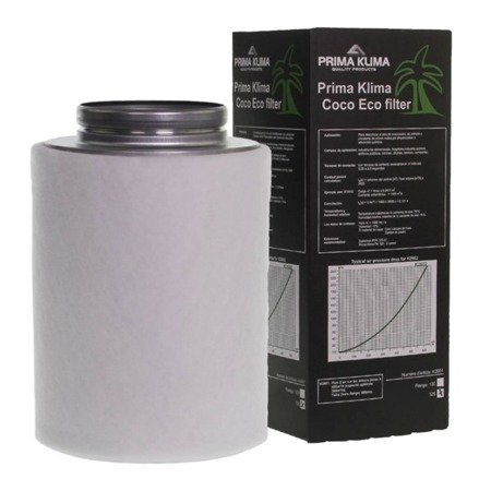 "Carbon filter 'Prima Klima, ECO"" 480m3/h - 125mm"