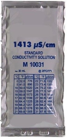 EC calibration liquid 20ml, Ec 1.413
