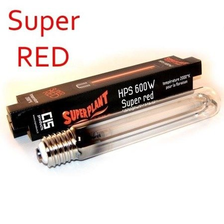 Lampa HPS 600W Super Plant Super RED